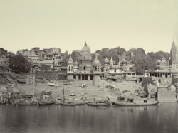 Burning ghat [Benares].